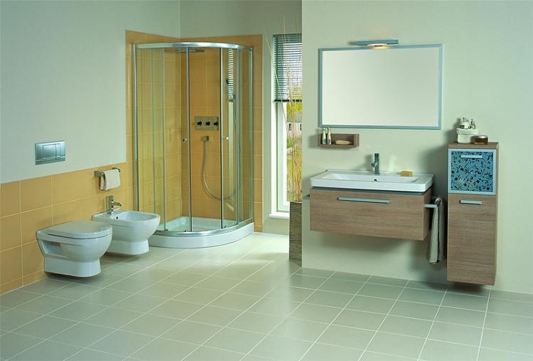 ванный мебель в интерере